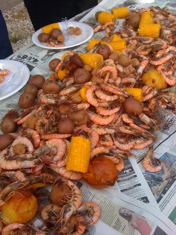 link family crawfish boil how to prepare an easy crab boil shrimp boil ...